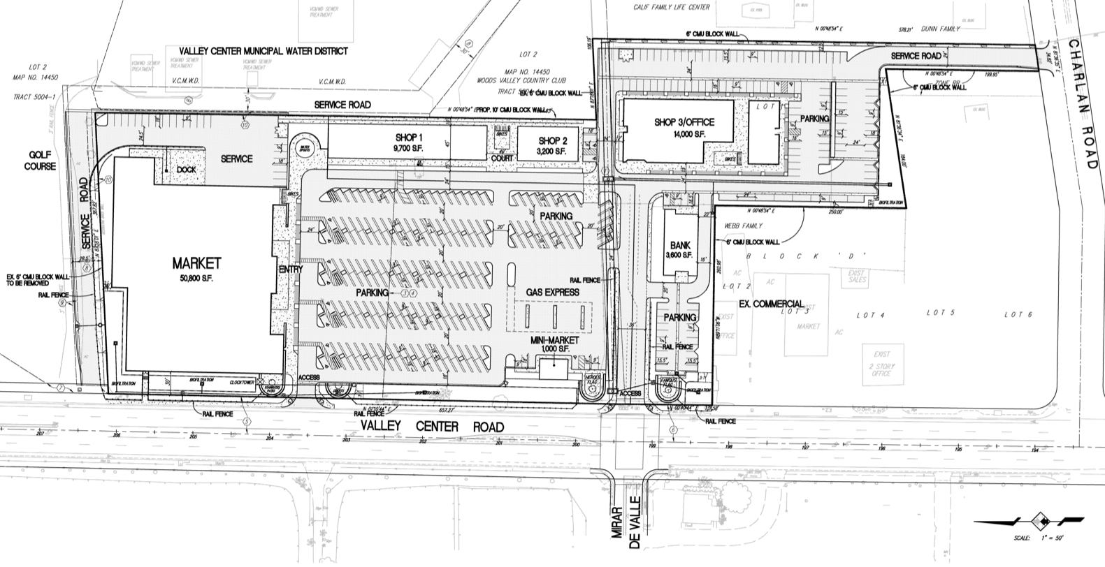 Vons supermarket and gas station coming to Liberty Bell Plaza ...